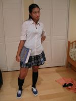 Private School  Girl 16 by imagine-stock