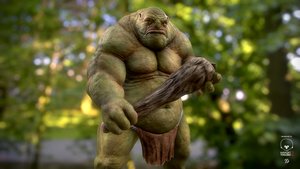 Ogre, Troll or something.. by Dancuka