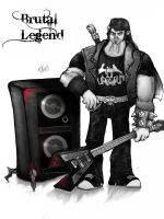 I am Brutal Legend by StrangerinHat