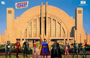 JLA - Justice League of America by TheSnowman10