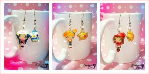 Pokemon Ladies Kawaii Earrings by SentimentalDolliez