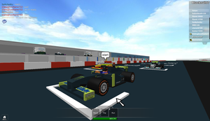 Roblox: Monsters racing team by blackevil915
