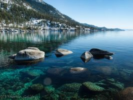 Still Water Lake Tahoe by MartinGollery