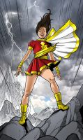 Mary Marvel by angryrooster