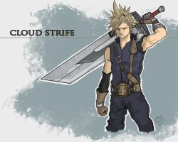 C for Cloud Strife by SuperJV