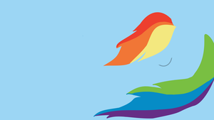Rainbow Dash Wallpaper 3 V.2 by XVanilla-TwilightX