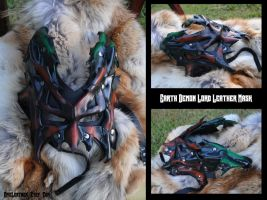 Earth Demon Lord Leather Mask by Epic-Leather