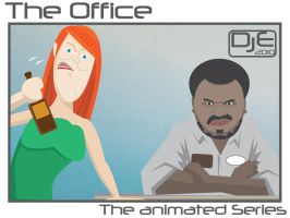 Office - Meredith and Darryl by johnnymartini