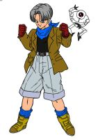 GT Trunks colored by LadyLaui