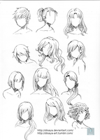 Hair reference 3 by Disaya