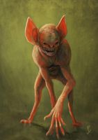 Vampire Bat Monkey... thing. by LyntonLevengood
