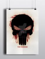 The Punisher Logo poster by Sith4Brains