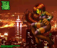 Starfire Skyline by themebi