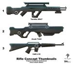 Rifle Concepts by tibius