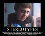 Sonic Demotivational: Inaccurate Stereotypes by MrNeedleMouse00