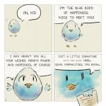 Blue bird of happiness 01 by Corvocollorosso