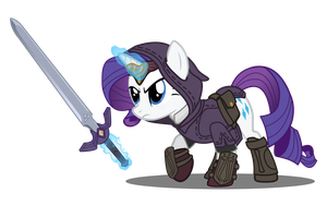 Legend of Rarity by CheshireTwilight