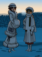 Winter Fashion by TitanicGal1912