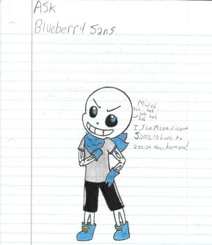 ASK Blueberry Sans by Azumie-Angel