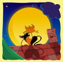 catmoon by larionov