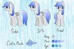 Music Wave official ref sheet by Cloudy95