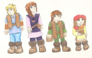 Haddock kids by earthstar