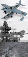 Battleship Launched Kingfisher by plumpener