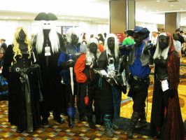 DragonCon 2011 Drow Group by KMCgeijyutsuka