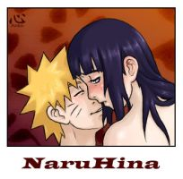 NaruHina for nelsonaof by Anna-kokoro