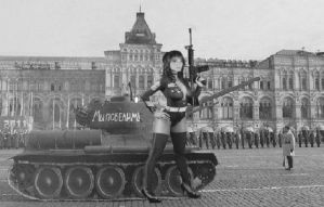 RUSSIAN  super soldier by kong25