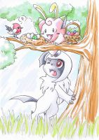 Happy Egg Hunt everyone by TheUnununium