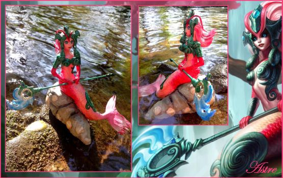Nami League Of Legends (skin koi) by astre90