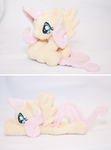 Fluttershy Beanie Plush by tiny-tea-party