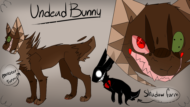 Undead Bunny Refrence by Dark-yard