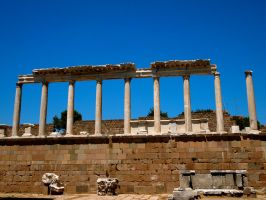 Beautiful architecture at Acropolis by jacobjellyroll