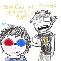 John and Sollux by lessy652