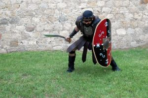 Iberian warrior stock 22 by IngwellRitter-Stock
