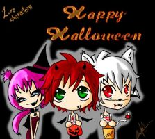 Happy halloween LURO :P by Shoujoneko