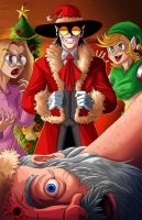Hellsing Abridged Xmas special fan art by SemajZ