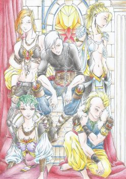 The King's gang by Ao-Saru
