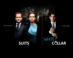 White Collar and Suits by FancyPancy