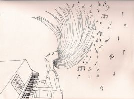 Piano Passion by SageFillyLuna