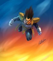 Vegeta by MasterOfElements