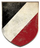 German Tri-Color Shield by Xtragicfever