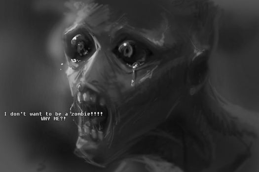 crying zombie by cmwdexint