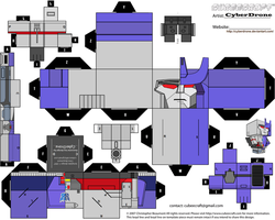 Cubee - Mega-Galvatron by CyberDrone