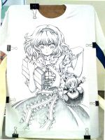 T-shirt Alice by ranalez