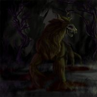 Death Monster by Clairictures