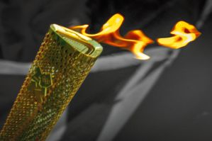 Olympic Torch 1 by Grunvald