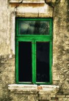 - green window II - by ioanaalexandra